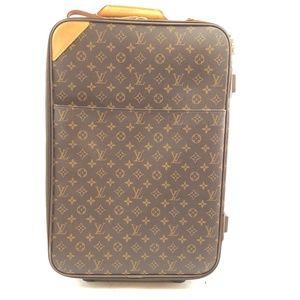 55 Roller Luggage Monogram  Weekend/Travel Bag